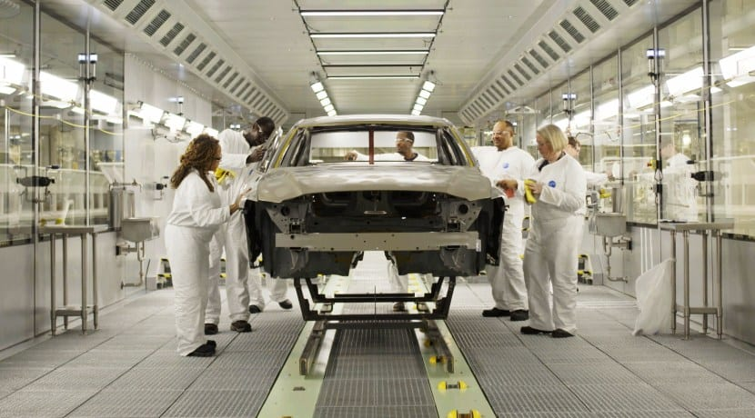 Volvo S60 manufacturing plant in South Carolina USA