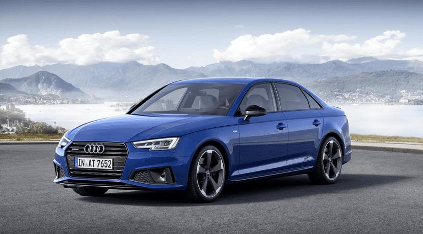 Frontal del Audi A4 2019