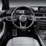 Puesto de conducción del Audi A4 2019