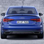 Trasera del Audi A4 2019