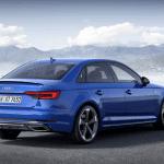 Trasera 3/4 del Audi A4 2019