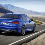 Detalles trasera del Audi A4 2019
