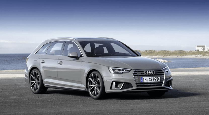 Frontal del Audi A4 Avant 2019