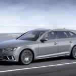 Foto dinámica del Audi A4 Avant 2019