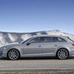 Lateral del Audi A4 Avant 2019
