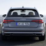 Trasera del Audi A4 Avant 2019