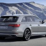 Trasera 3/4 del Audi A4 Avant 2019