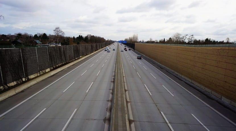 Autobahn sin limite de velocidad en Alemania