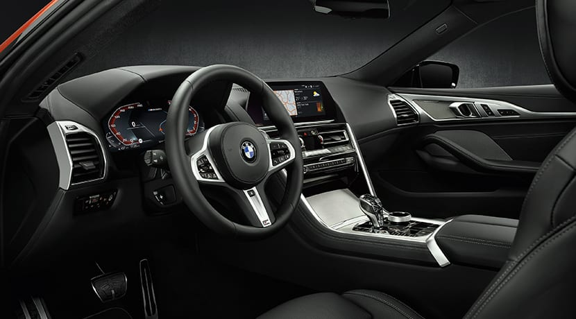 BMW Serie 8 Coupé interior