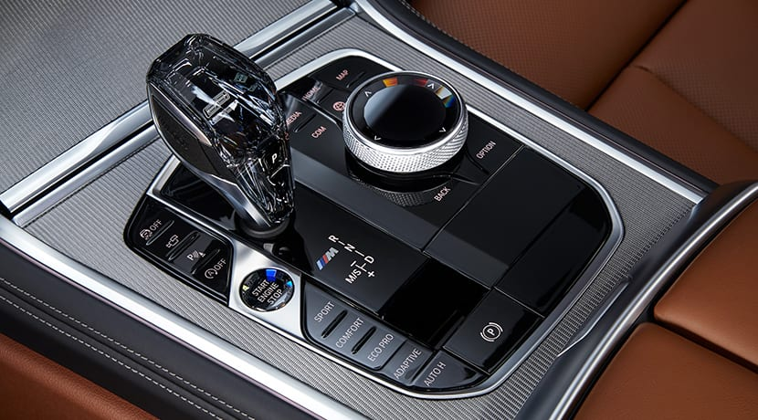 BMW Serie 8 Coupé consola central