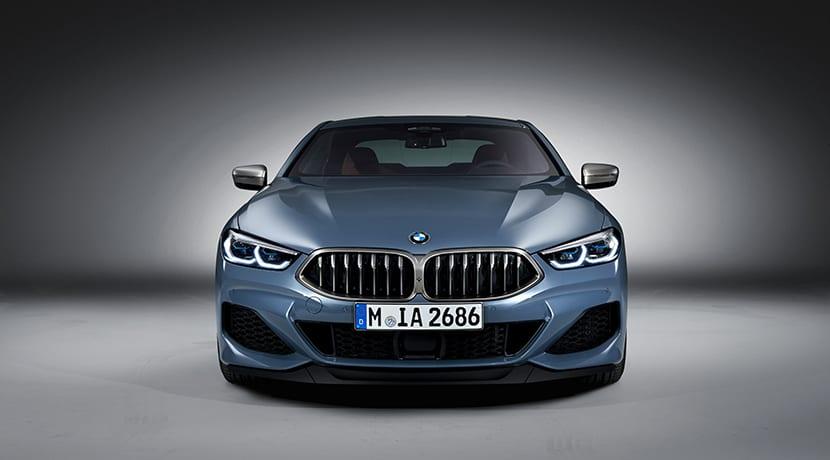 BMW Serie 8 Coupé frontal