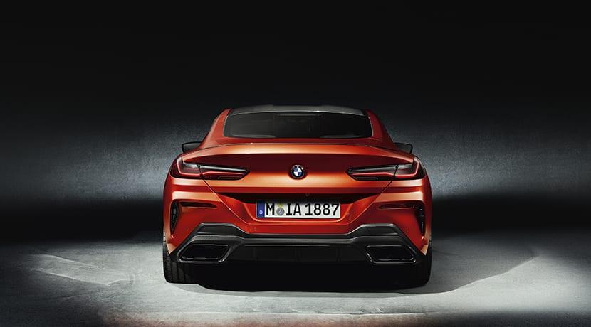 BMW Serie 8 Coupé trasera