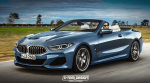 Recreación del BMW Serie 8 Cabrio