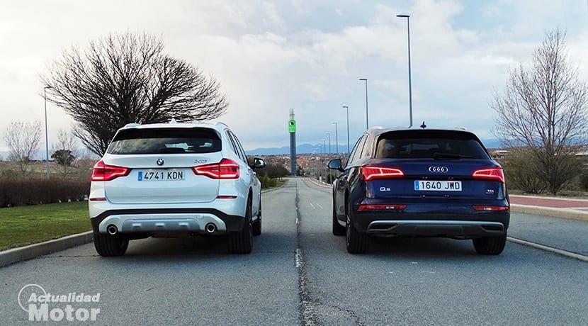Comparativa BMW X3 y Audi Q5