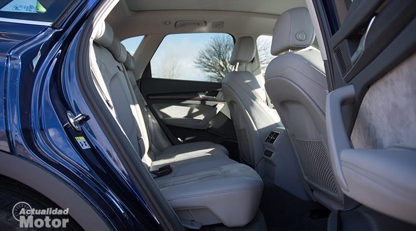 Plazas traseras del Audi Q5