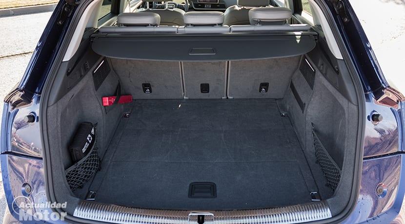 Maletero del Audi Q5