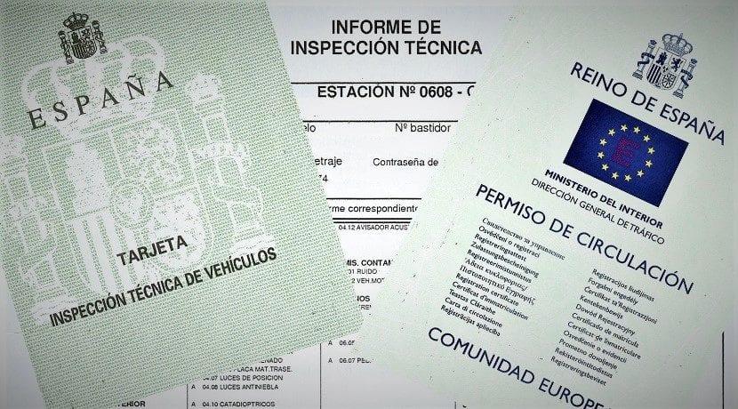 Documentación del coche obligatoria