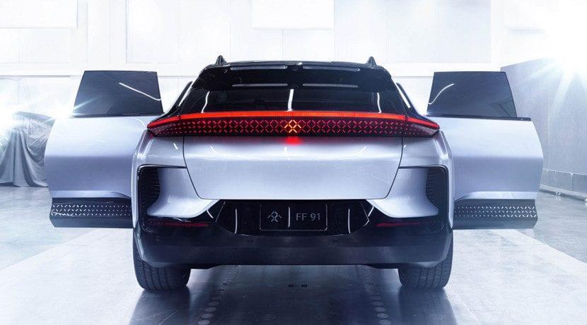 Faraday Future recibe una inversión de 1.700 millones para el FF 91