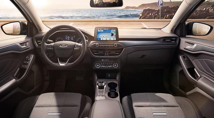 Interior del Ford Focus