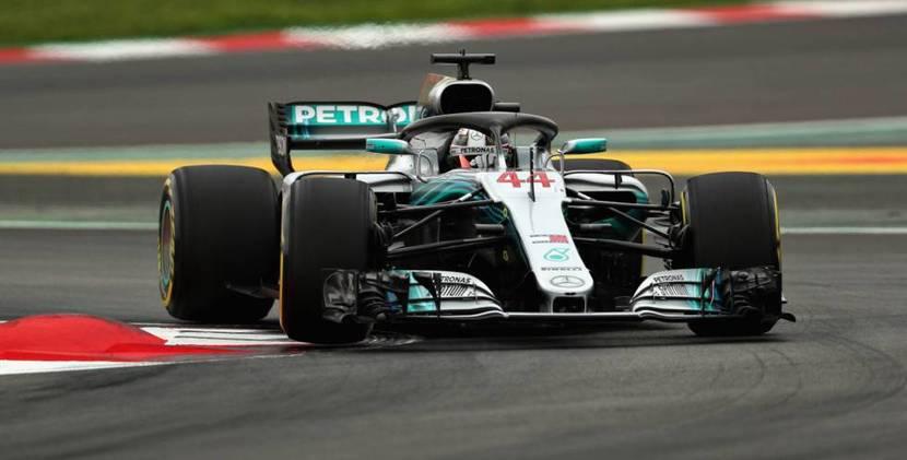 Hamilton Mercedes 2018