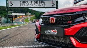 Honda Civic Type R récord en Spa