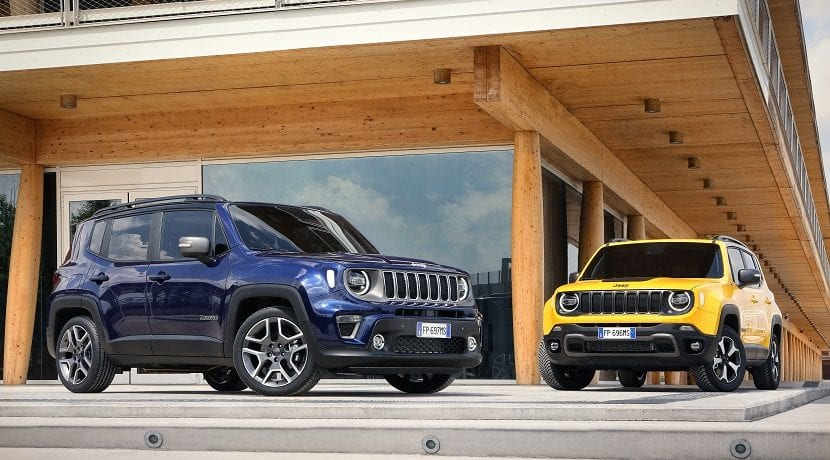 Jeep Renegade 2019 acabado Limited y Trailhawk