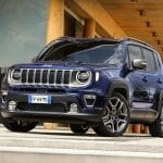 Frontal del Jeep Renegade 2019