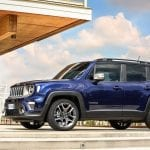 Lateral del Jeep Renegade 2019