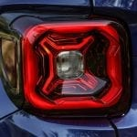 Luces traseras del Jeep Renegade 2019