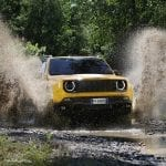 Jeep Renegade 2019 Trailhawk en barro