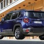 Trasera del Jeep Renegade 2019