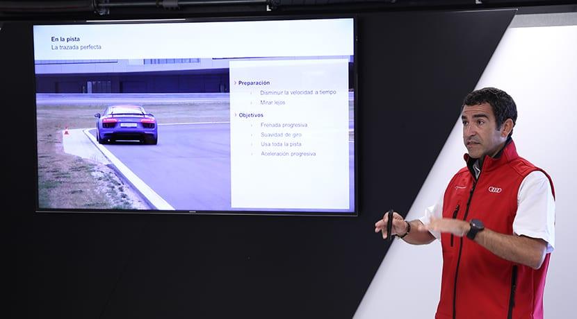 Jordi Gené en el Audi Driving Experience Sportsar