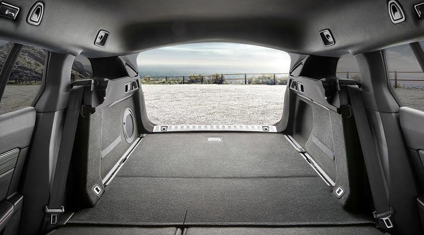 Peugeot 508 SW maletero