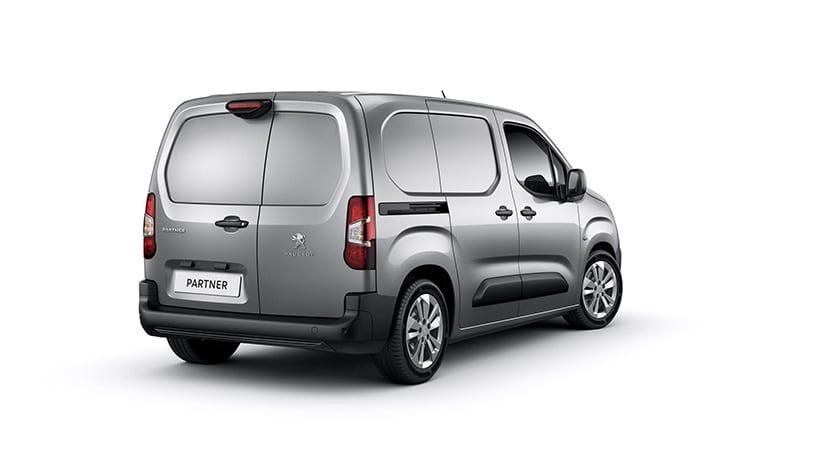 Peugeot Partner trasera