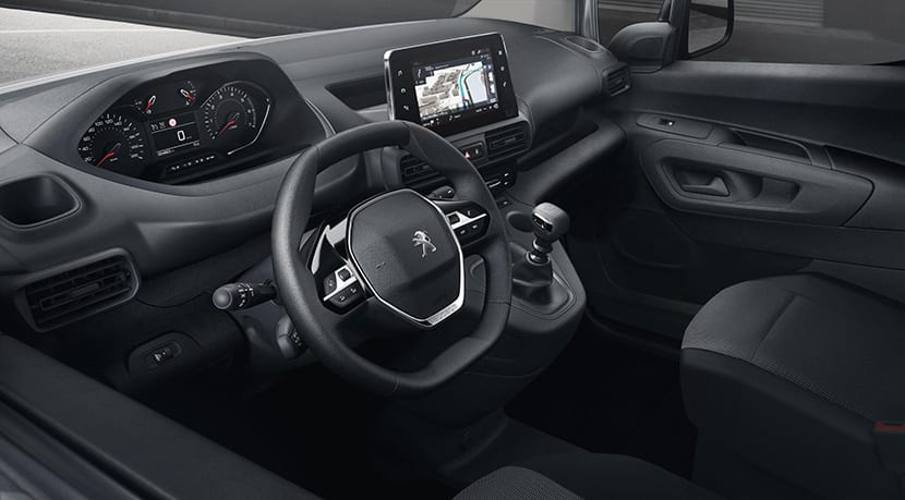 Peugeot Partner diseño interior