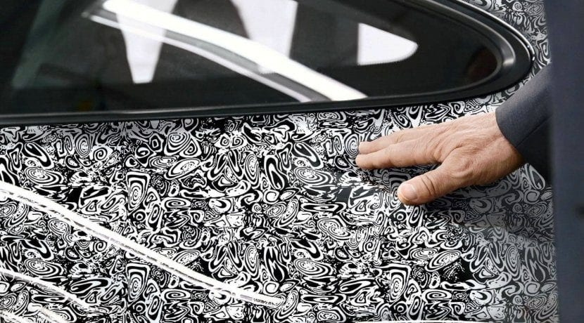Camuflaje de la octava generación del Porsche 911 (992) 2019