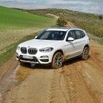 Prueba BMW X3 offroad