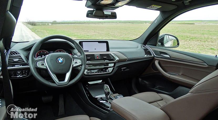 Prueba BMW X3 diseño interior