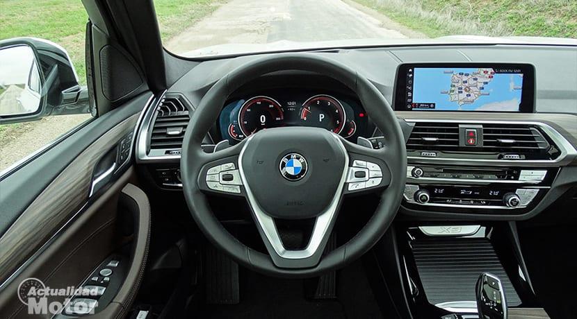 Prueba BMW X3 volante