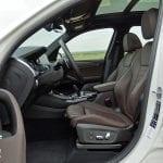 Prueba BMW X3 interiores