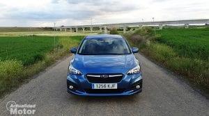 Prueba Subaru Impreza frontal