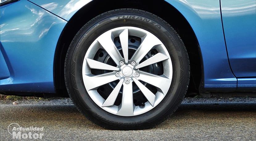 Tapacubos del Subaru Impreza