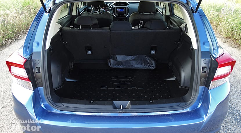 Maletero del Subaru Impreza