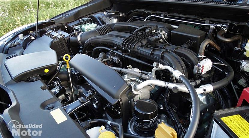 Motor 1.6 bóxer del Subaru Impreza