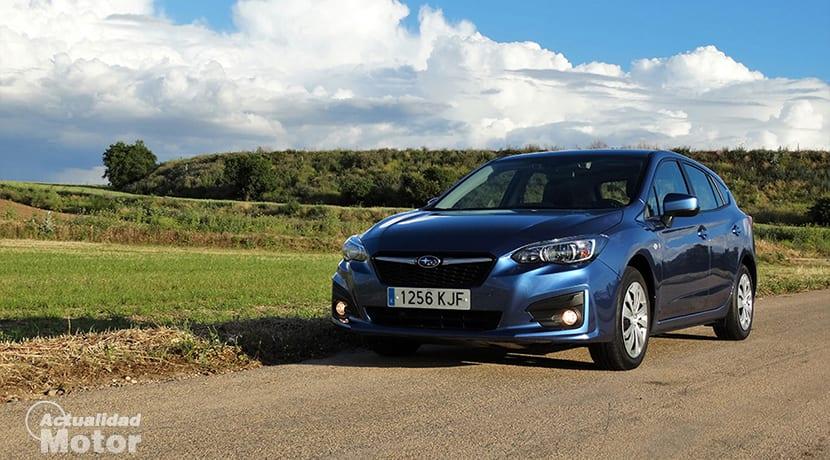 Prueba Subaru Impreza perfil delantero
