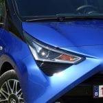 Prueba Toyota Aygo detalles exteriores