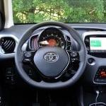 Prueba Toyota Aygo interiores