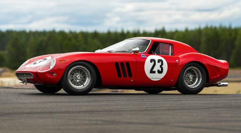 Ferrari 250 GTO a subasta RM Sotheby's