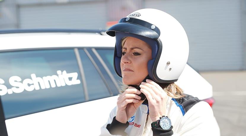 Sabine Schmitz con el Skoda Kodiaq RS