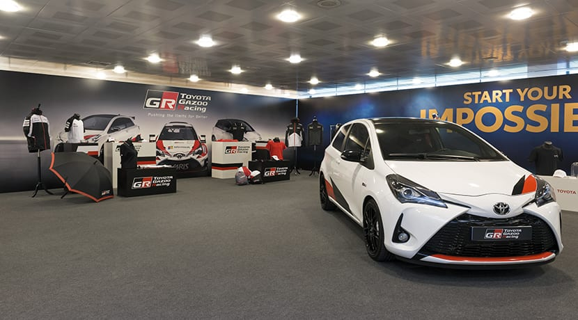 Toyota Collection boutique de merchandasing